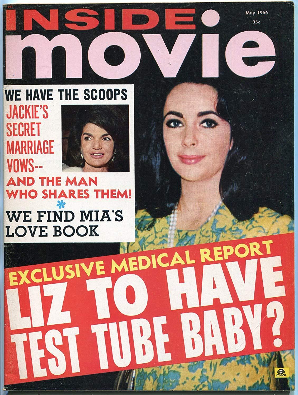 Buy INSIDE MOVIE-1966-FEBRUARY-ELIZABETH TAYLOR-JACKIE KENNEDY-ELVIS