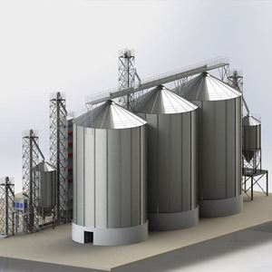 Factory Price 500Ton 1000Ton 2000Ton 5000Ton Steel Farm Grain Silo For Sale