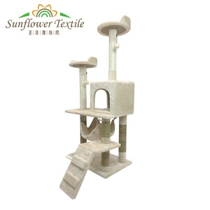 Wholesale Pets supplies sisal cat tree scratcher play house