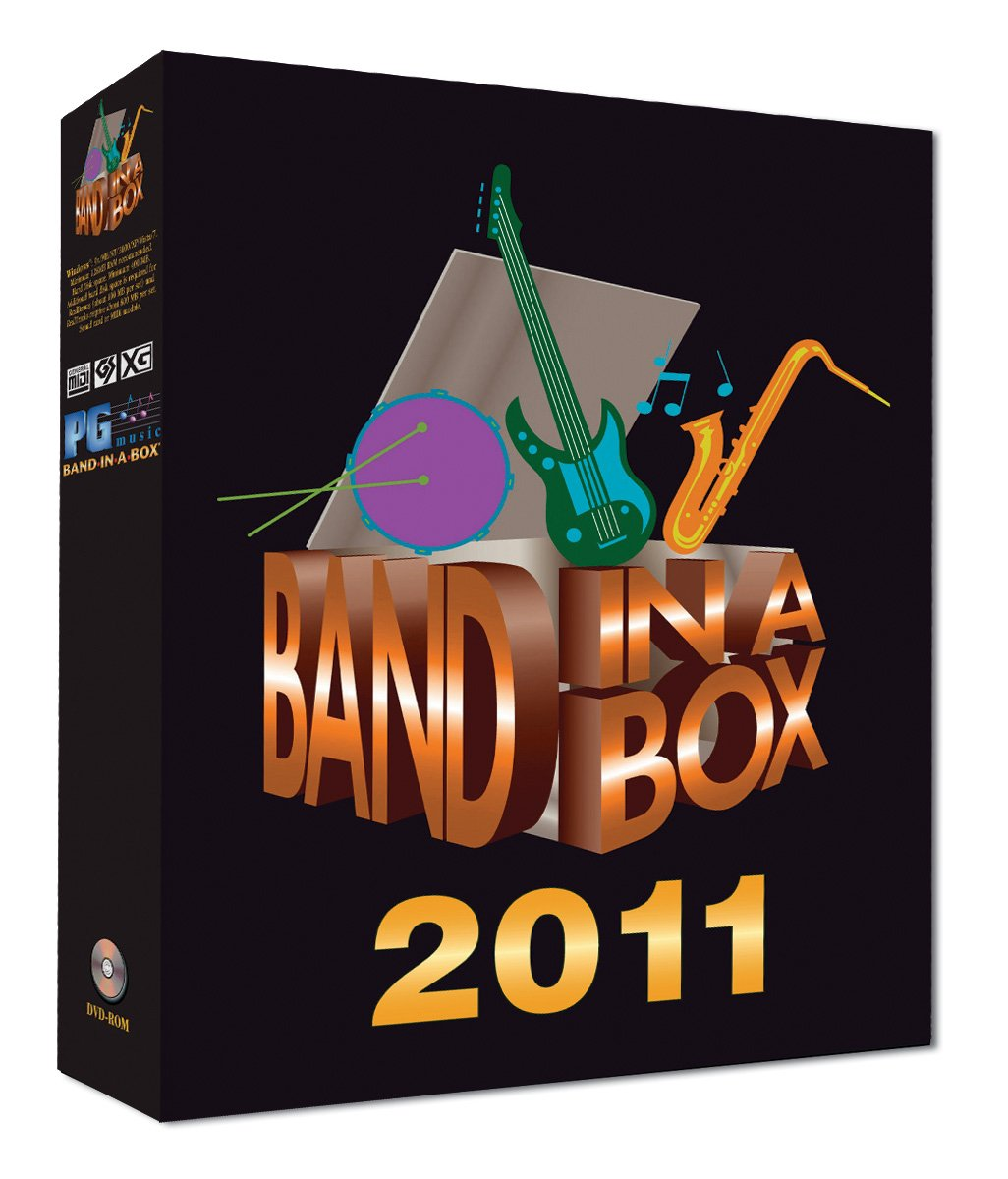 Band-in-a-Box 2011 Pro Upgrade [Old Version, Win DVD-ROM]