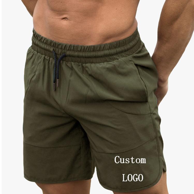 Wholesale Athletic Shorts Custom Workwear Print Mens Workout Fitness Athletic Gym Training  Sports Shorts