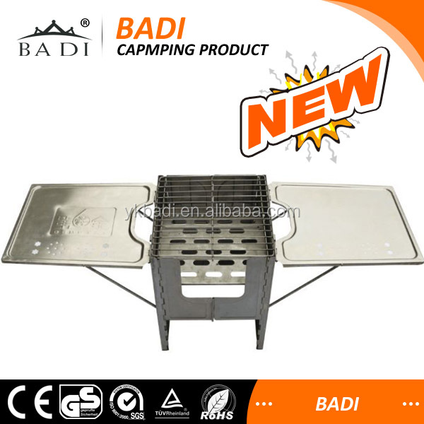 outdoor camping BBQ grill tools use gas and charcoal