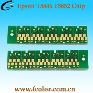 Made in China T5852 T5846 One time Cartridge Chip for Epson PM200 225 240 260 280 290 300