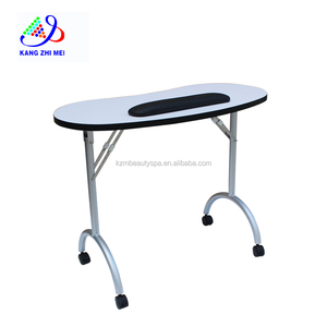 best sale beauty nail furniture portable nail table/ folding manicure table N078