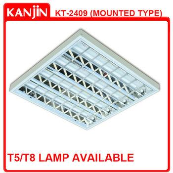 600x600mm Indoor Led Lighting T5 / T8 Fluorescent Ceiling Light ...