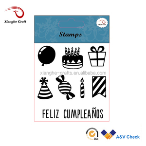 cake shaped rubber stamp rare stamps for happy birthday cards
