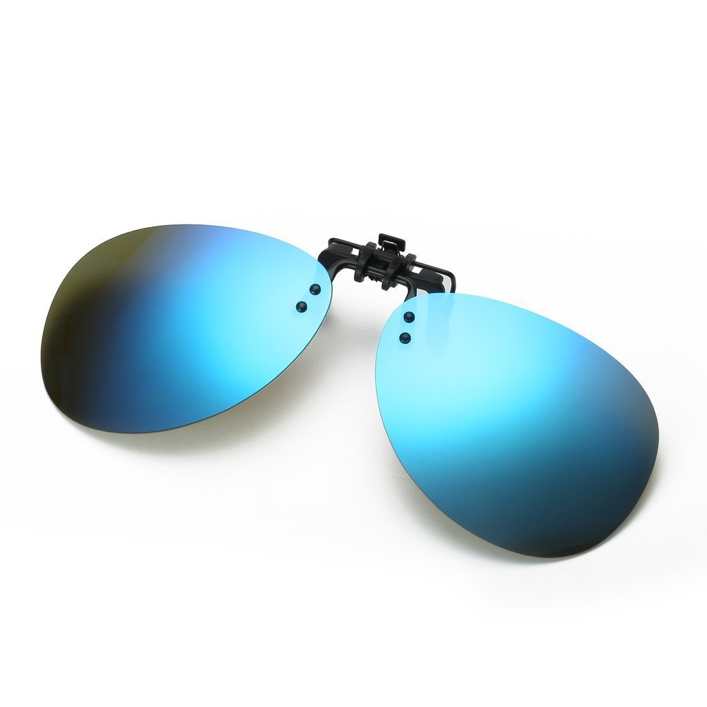 e91e8327c8bb Get Quotations · Simvey Retro Polarized Clip on Flip up Aviator Polarized  Sunglasses Driving Fishing Traveling