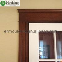 China Manufacturer PU/UV painting/white primed custom made wood trim With the Best Quality