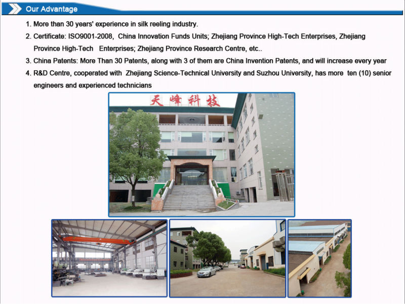 Best Price Silk Reeling Equipmemt - Sekin winder textile spinning machinery from China golden supplier
