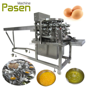 egg beater and white separation machine / egg breaking liquid white separating machine