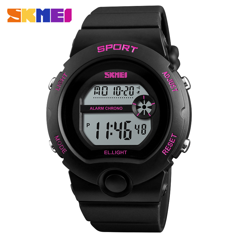 2018 Hot Relojes Women Digital Wrist Watch Led Alarm Chronograph Outdoor 50m Waterproof Dive Sports Men Brand Skmei 1334 Watch