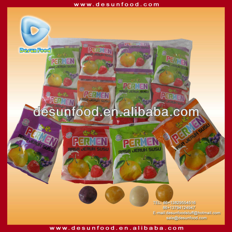 Crispy fruit halal chewy candy
