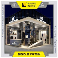 Wonderful clothes store interior decoration design , clothes display stands , garment shop display furniture