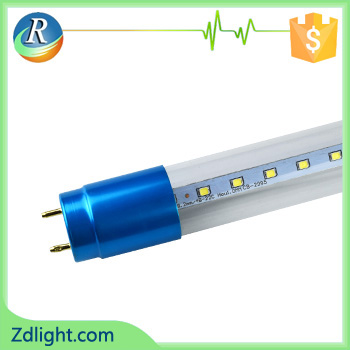 18w T8 retrofit glass color ends SMD LED tube