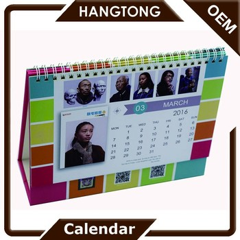 Wonderful Cheap Customized Office Supplies Unique Desk Calendar Designs