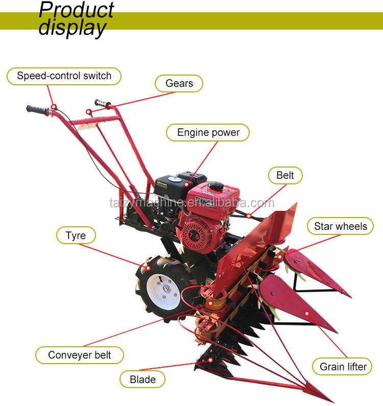 Advanced Factory Price Grain Reaper Binder Wheat Reaper