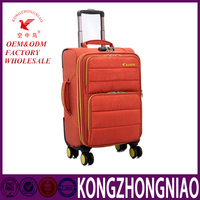 New product 2016 latest upright luggage bags and cases, suit bag luggage from china,factory price