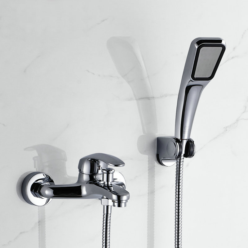 Bathroom Faucets With Diverter Bath Tub Mixer Tap Faucet