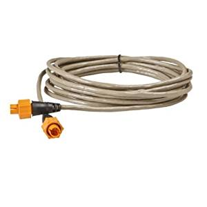 LOWRANCE ETHEXT-15YL Ethernet extension cable, 15 ft, MFG# 000-0127-29, wIth 5-pin yellow plugs, for use with Navico systems and NEP-1 or NEP-2 expansion port. 127-29 / LOW-000-0127-29 /