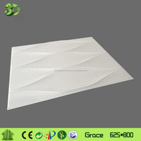 Low cost bamboo fiber decor wall covering