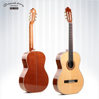 Chinese best handmade classical lp acousitic guitar