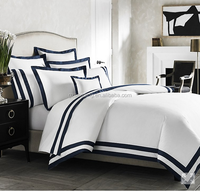 Deluxe Hotel Grand 100% Cotton Duvet Covers printed with stripe 250TC Used In Hospital Hotel Quilt Cover
