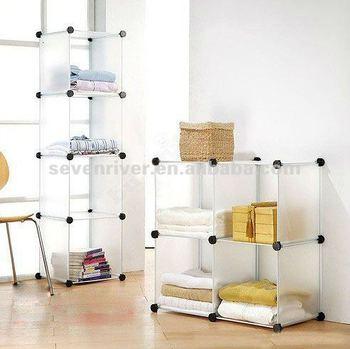 Clothing Storage ShelvesDIY Box Rack