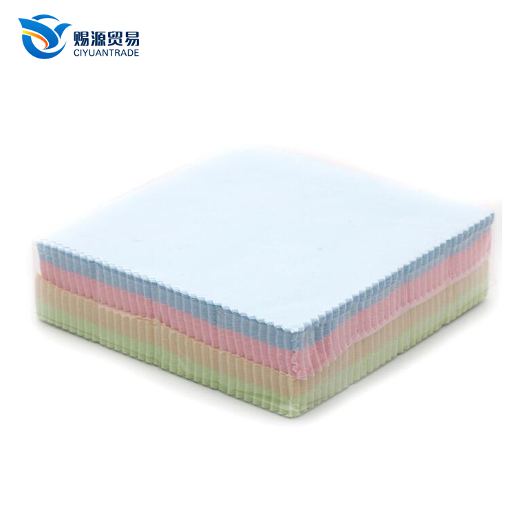 CIYUAN 2017 wholesale microfiber cleaning cloth glasses microfiber cloth in bulk microfiber cloth for glasses, Any colors is available