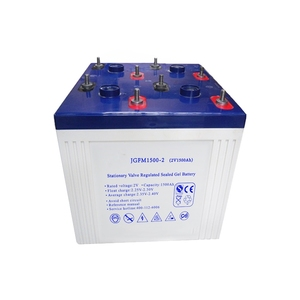 High power 2 volt battery 2v 1500ah rechargeable eps battery
