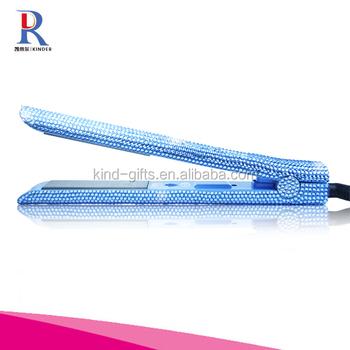 Slap Up Luxurious Hair Straightener Crystal Flat Iron