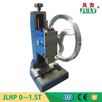 Factory direct sale july exquisite metal stamping machine for Metal stamping press for jewelry