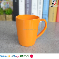 Wholesale OEM promotional coffee mug melamine material