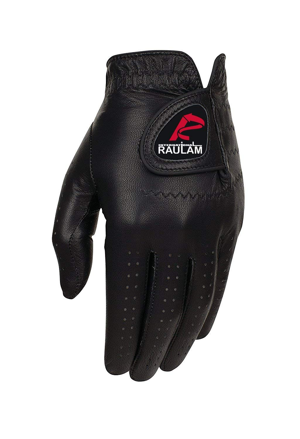 Black Leather Golf Gloves With Perfect Grip Best Quality for Men and Women,Golf Glove Men Left Hand-Golf Glove Women Left Hand/Right Hand,Black Leather Golf Glove Left Hand/Right Hand By Raulam Int.