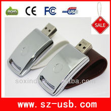 Promotioal Function or Gifts 2G/4G/8G/16G Leather USB Flash drive 2.0