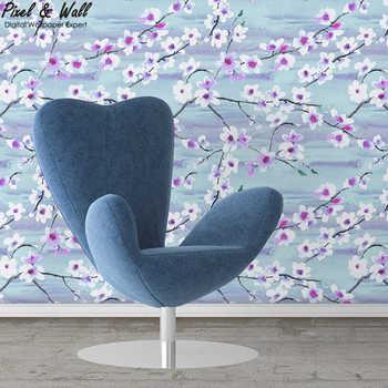 Cat Air Latar Belakang Bunga Sakura Pwpattern Cherry Alam Wallpaper Hd  Desain Wallpaper Untuk Dekorasi Rumah - Buy Alam Wallpaper Hd,Desain