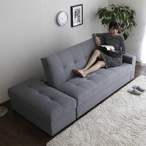 Wholesale cheap modern living room corner sofa cum bed design