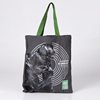 Eco friendly custom printed canvas tote bag/canvas cotton shopping bag