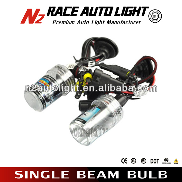 Super Brightness 35w AC digital h3 short hid bulb from factory manufacturer with Lifetime warranty