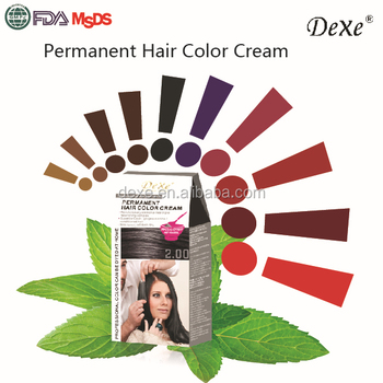 Splendid Red Hair Color Cream With Dexe Low Cost Factory Price For