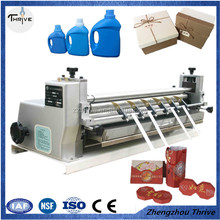 Automatic photo paper gumming machine/wallpaper gumming machine