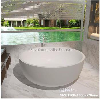 Forma Rotonda Di Grandi Dimensioni Ciotola Freestanding Vasche Da ...