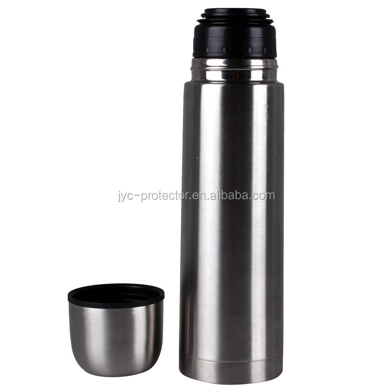 Stainless steel travel thermo mug H0Tmq vacuum insulated bottle