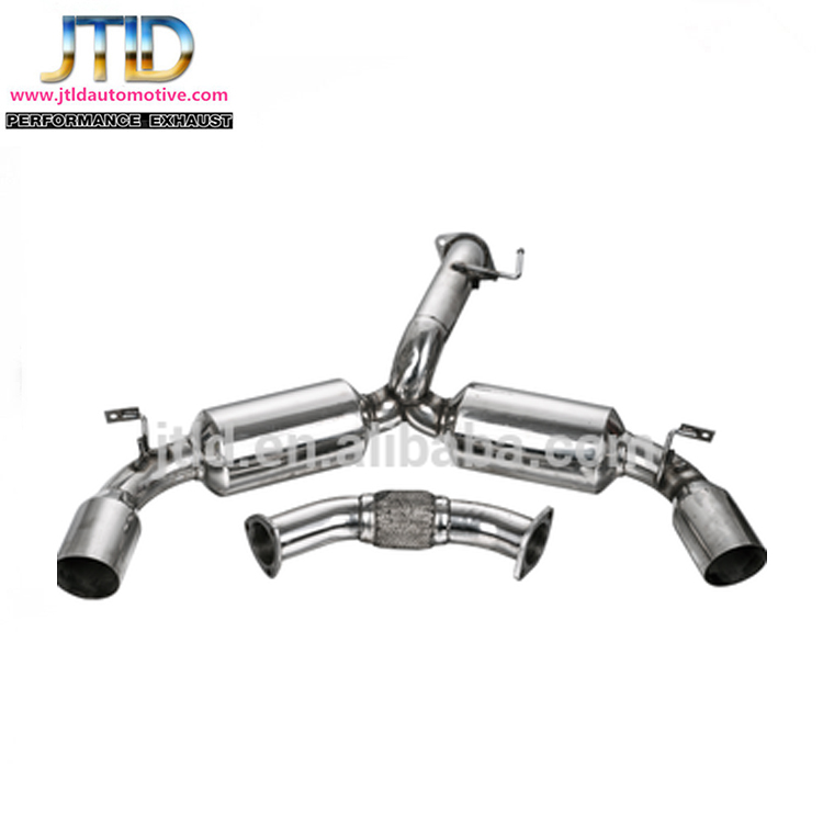 "Stainless Steel (jtec-006) 3"" Stainless Catback Exhaust System"