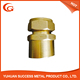 Lead Free brass Ferrule Type Singe-head Composite Pipe Brass Union male/female
