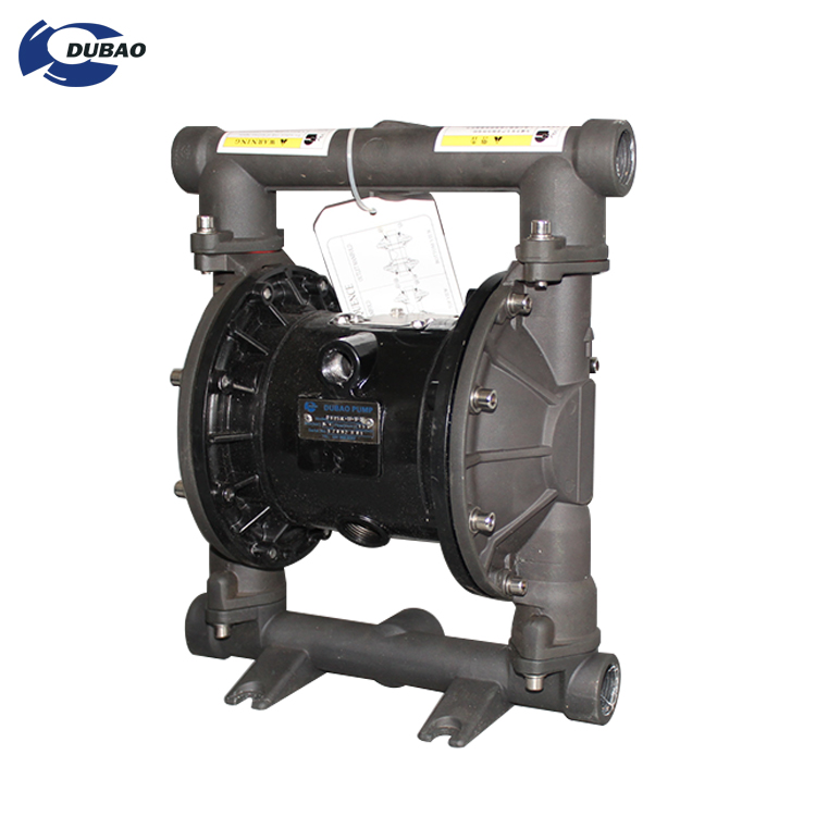 Air Operated Chemical resistant acid and alkali pneumatic pumps diaphragm pump