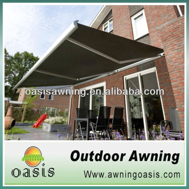outdoor motorised awning