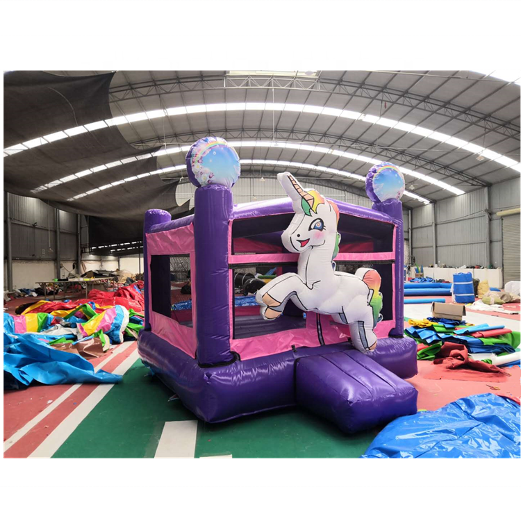 factory made unicorn inflatable bouncer house commercial inflatable bouncy castle