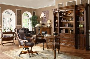 elegant bookcase and cabinet