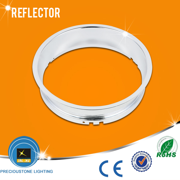 Round Shape 6 Inch Lighting Fixture Aluminum Reflector