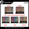 Private Label Eyeshadow New 88 piece marble eye shadow palette set neutral
